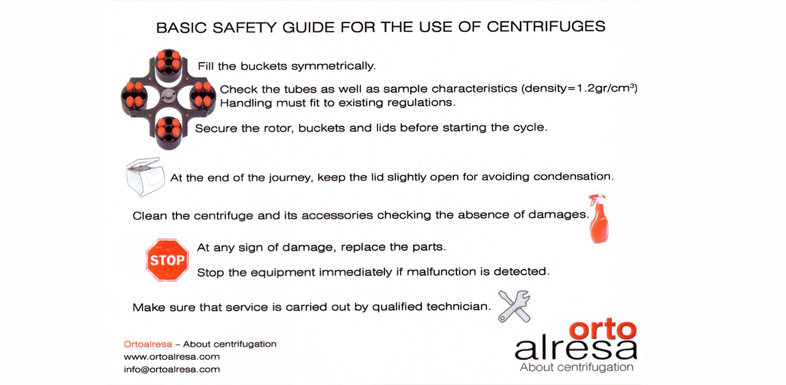 Safety Guide For The Use Of Centrifuges
